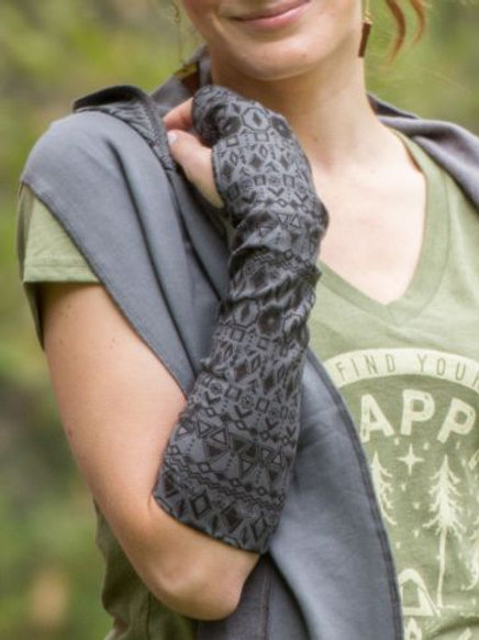 Funky Fleece Arm Warmers