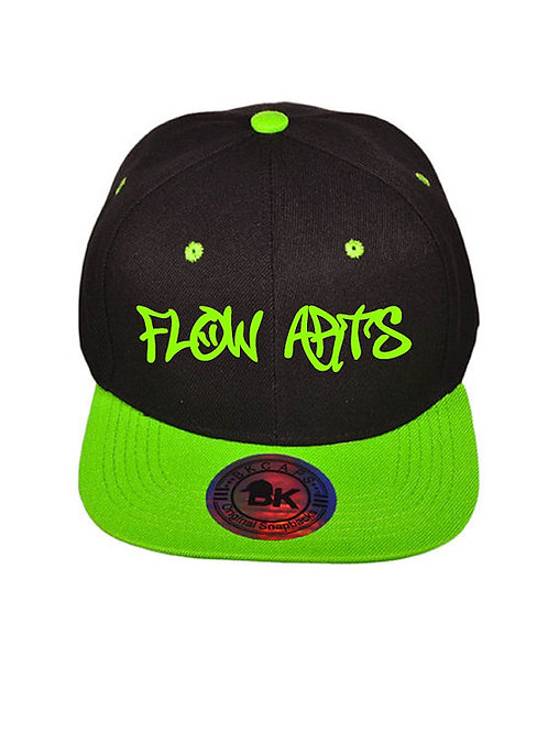 Modek Adjustable Snapback Hat- Flow Arts Design