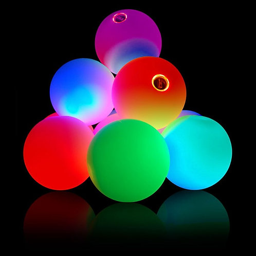 Set of 3 Firetoys LED Juggling Balls- 70mm