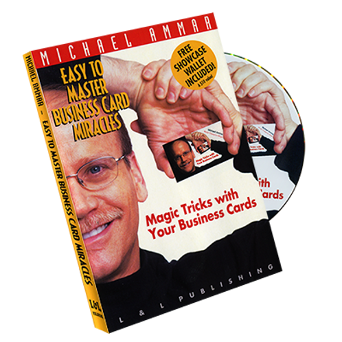 Business Card Miracles DVD- Michael Ammar