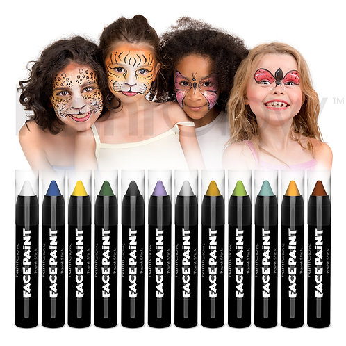 PaintGlow Face Paint Stick