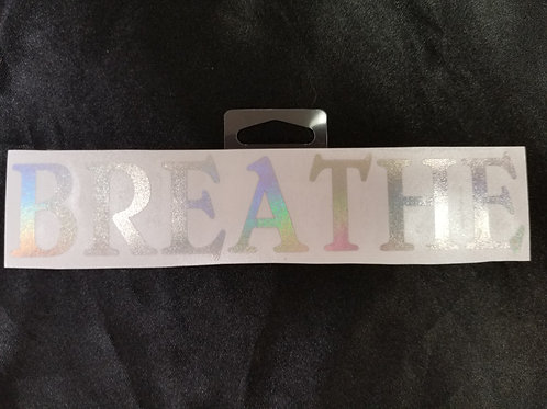 Sayings/Words Sticker- 7.75""