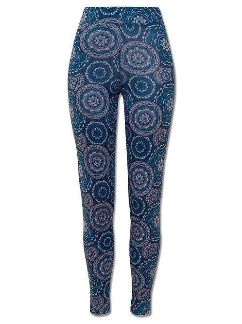 Mandala Madness Patterned Leggings