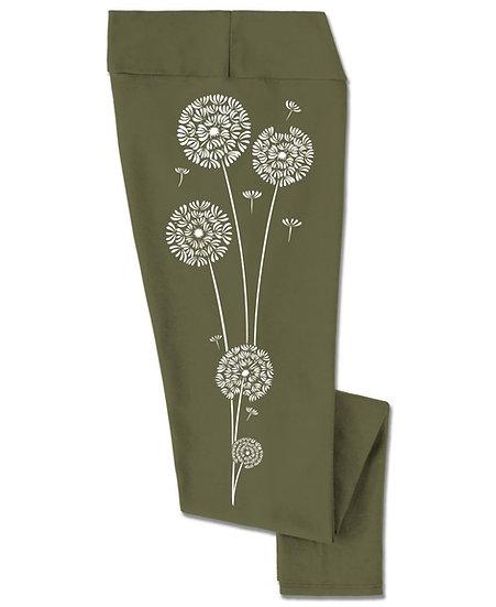 Wishful Thinking Dandelions Leggings