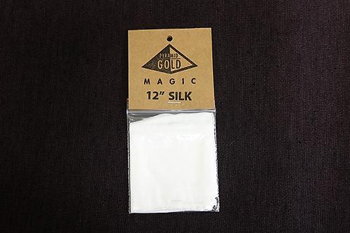"""12"""" White Silk"""