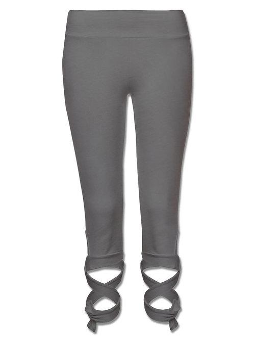 Charcoal Wrap Leggings