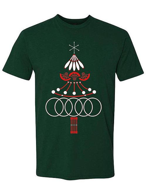 Christmas Tree Prop Mandala T-Shirt