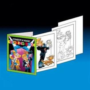 Comedy & Magic Coloring Book