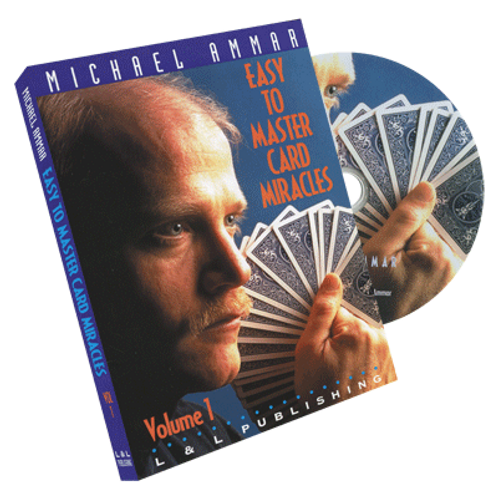 Easy to Master Card Miracles DVD- Michael Ammar