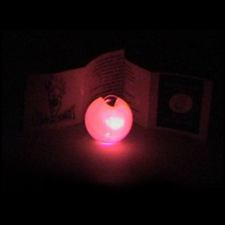 Luminous (LED) Clown Nose with String