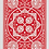 Thumbnail: Red Fan Back Tally Ho Playing Cards