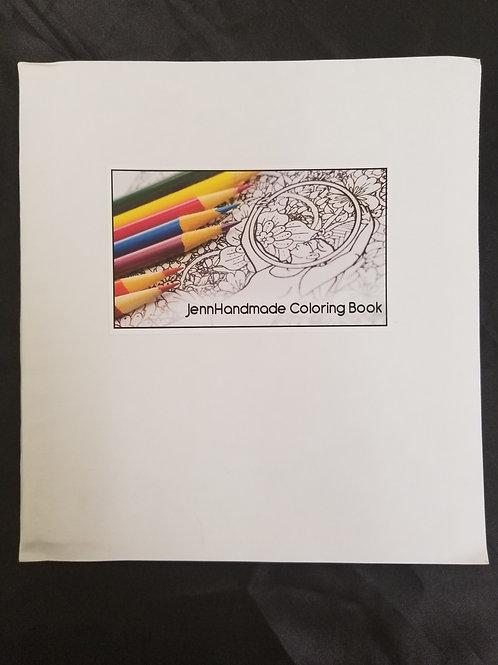 """Hoop Coloring Book- 7"""" x 8"""""""