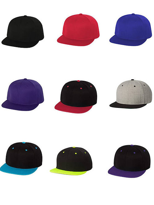 Modek Adjustable Snapback Hat- Contact Poi Design
