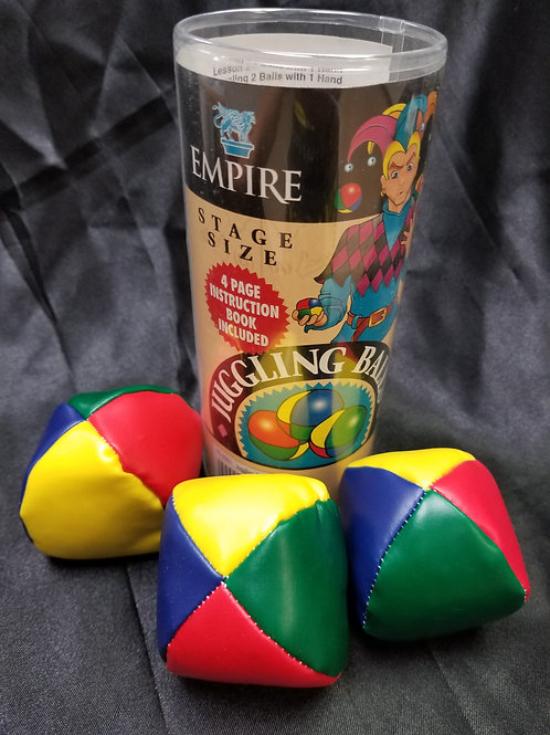 Empire Stage Size Juggling Balls (3-pack)