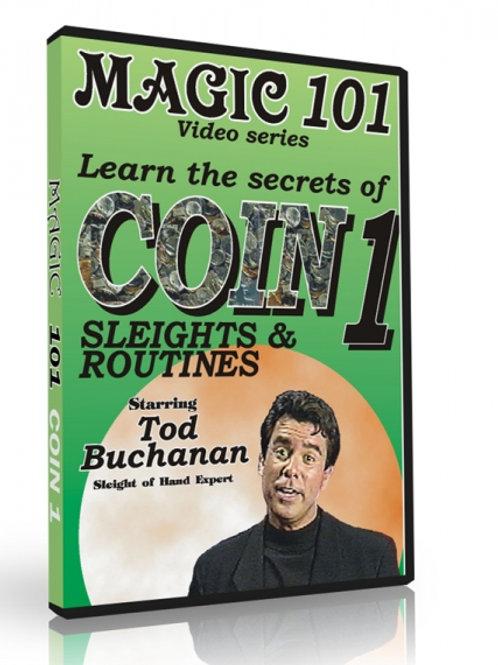 Coin Sleights DVD- Magic 101