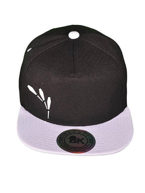 Modek Adjustable Snapback Hat- 3 Club Design