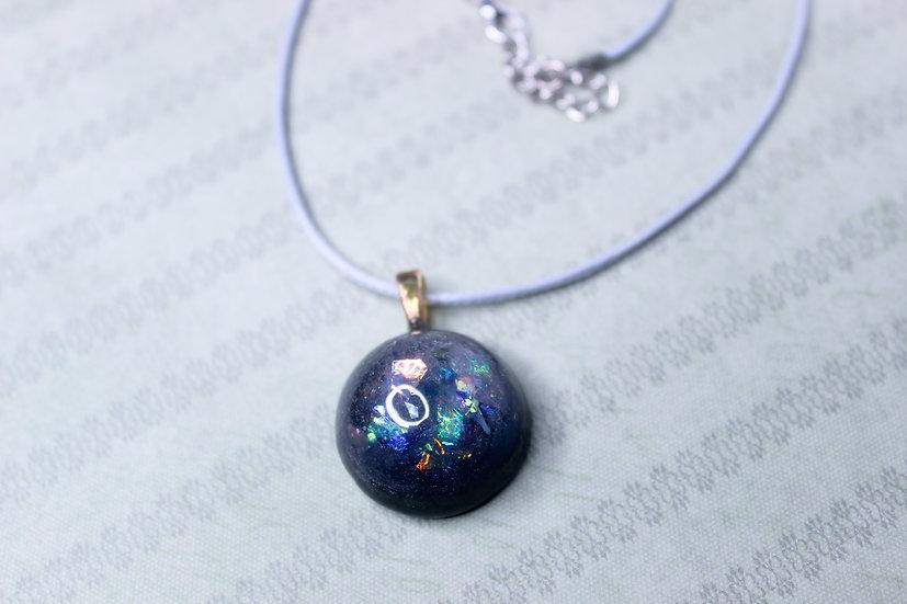 Black Shimmer Necklace