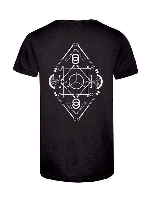 Modek Diamond Prop Mandala T-shirt