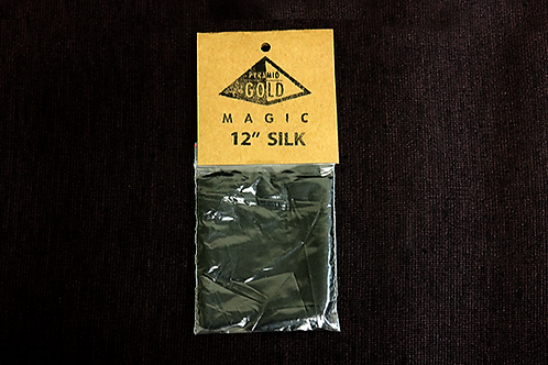 "12"" Black Silk"