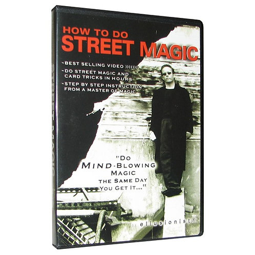 How to do Street Magic DVD