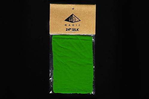 "24"" Green Silk"