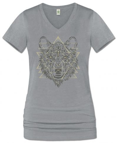 Spirit of the Wolf V-Neck T-Shirt