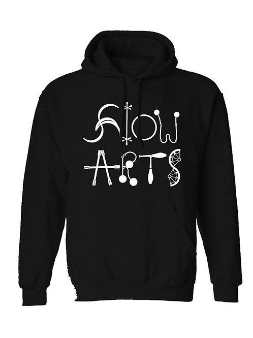 Flow Arts Pullover Hoodie