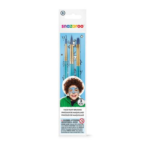 Snazaroo Brush (3pk)