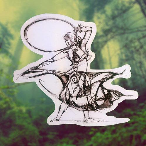 Ryoku Hooper Sticker
