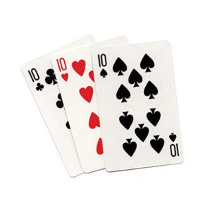 3 Card Monte- Blank