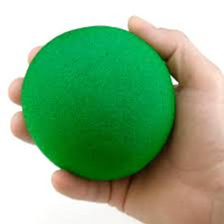 "4"" Super Soft Green Sponge Ball"