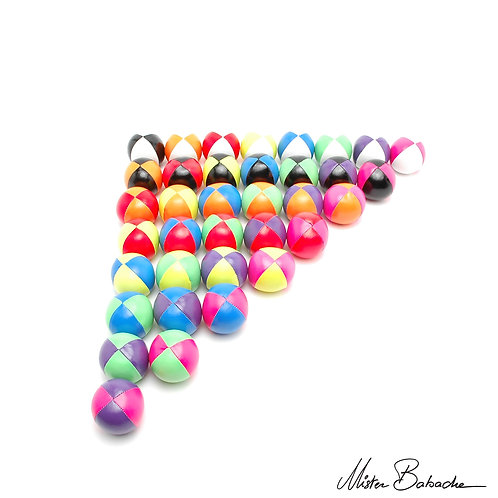 Mr Babache Fluo 2 Color Juggling Balls- 110g