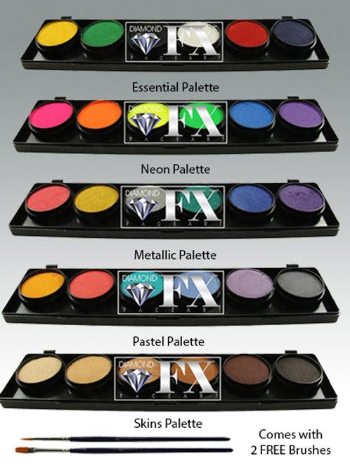 Diamond FX- 6 Colour Palette