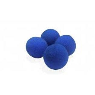 "2"" Super Soft Blue Sponge Balls (4-pack)"