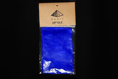 "24"" Royal Blue Silk"