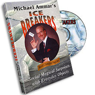 Ice Breakers (with Cards) DVD- Michael Ammar