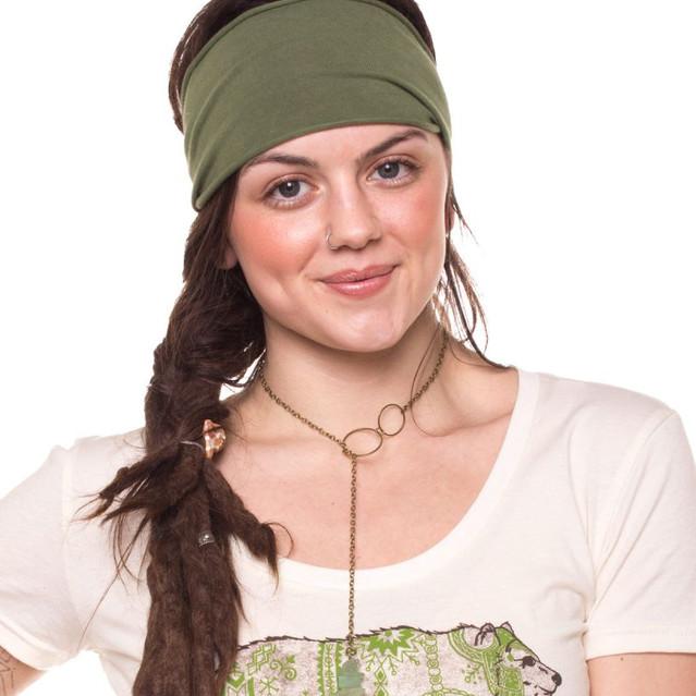 headband hangout- olive 2