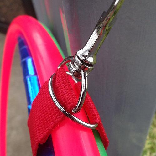 """Hoop Loop- 6"""" Ring & Clasp"""