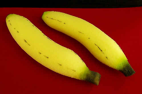 Medium Sponge Bananas (2-piece)