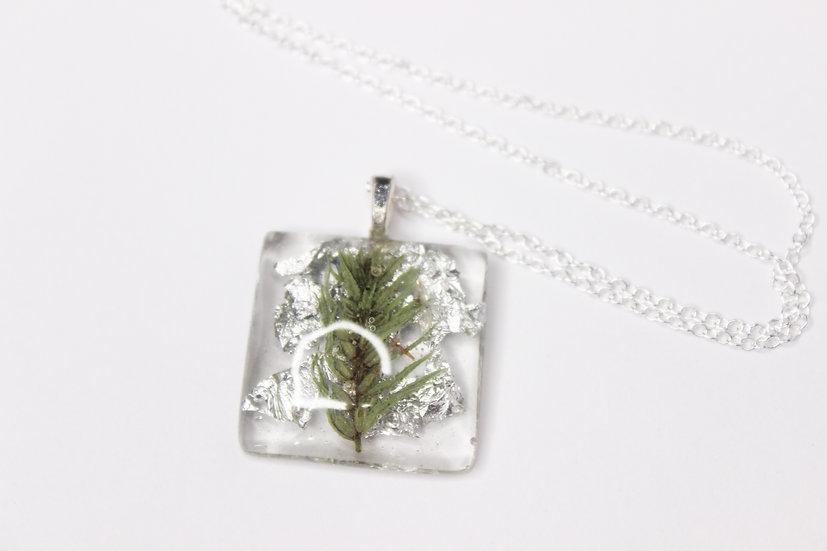 Winter Fern Necklace