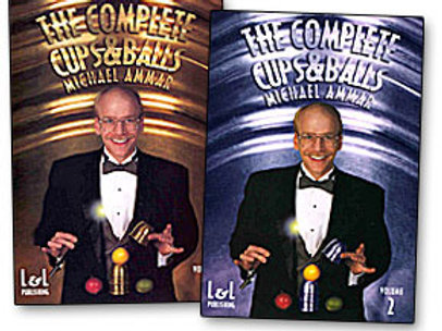 The Complete Cups and Balls DVD- Michael Ammar
