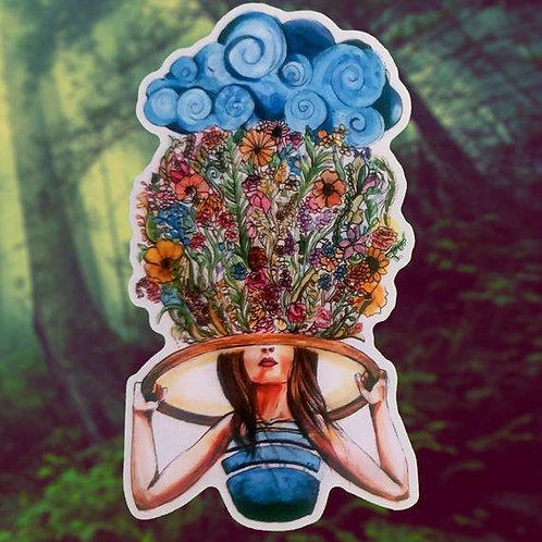 Thought Garden Hooper Sticker