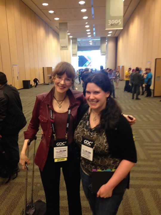 With Winifred Phillips at GDC '16