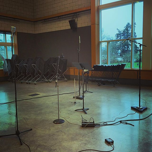 Flute recording session (2017)