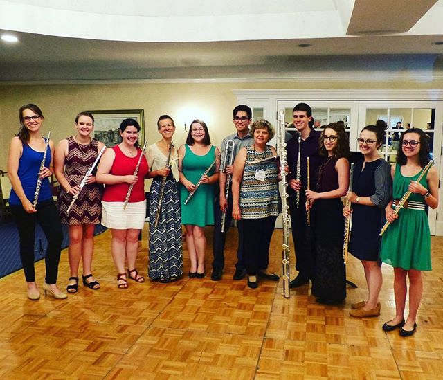 Enjoyed showcasing the pedagogical works of Sophie Dufeutrelle with the UO Flute Studio!