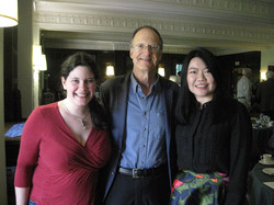 With Dr. Robert Kyr (2016)