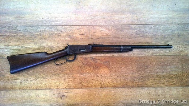 Winchester 1894 saddle ring carbine in .30 WCF or 30-30