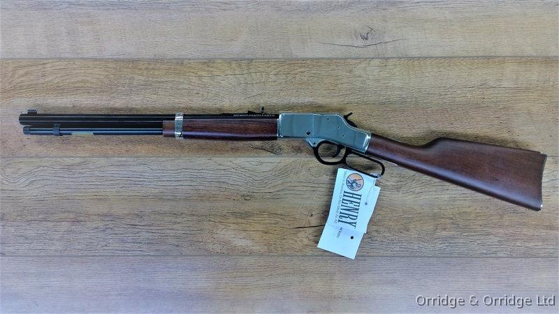 HENRY BIG BOY SILVER .357 Magnum, .44 Magnum, and .45 Colt