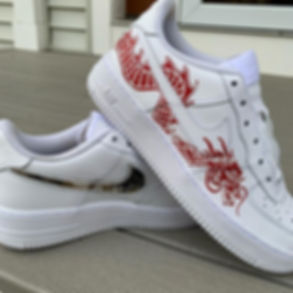 Chinese dragon AF1s inspired by @ defian