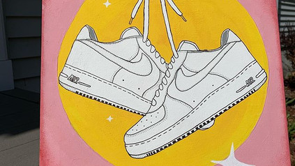 Air Force 1 Painting